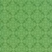 Moda North Woods by Kate Spain - 4813 - Christmas Crystal, Green Scandinavian Style Geometric - 27246 16 - Cotton Fabric